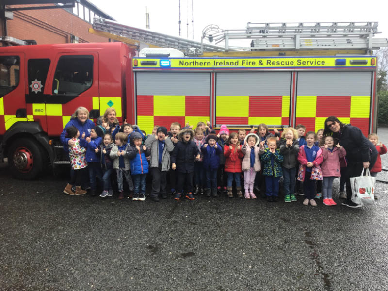 Thank you so much to all at the Fire Station. We learned so much and had a great time.