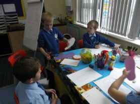 P3 Writing Table