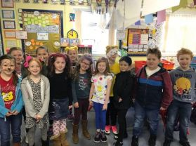 P5R/McI go spot crazy in aid of Children in Need.