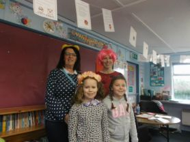 We had a great time on Mad Hair day in P5K/R