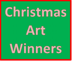 Christmas Art Winners