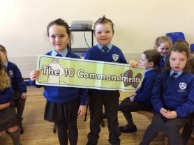 P2 had a great time sharing their assembly with the school.