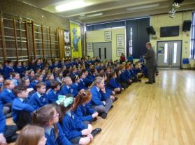 The Belfast Giants visit Academy PS