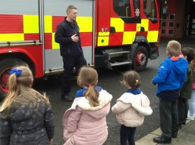 P1 Visit to the Fire Station