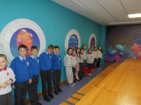 P5 Shared Education Trip to W5