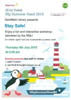 Saintfield Library - Stay Safe