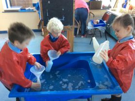 P1 have been having lots of fun in their 'Learning Through Play'.