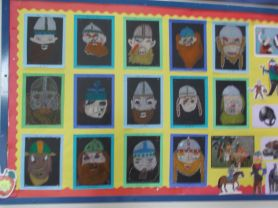 VICIOUS VIKINGS appear at Academy Primary School!