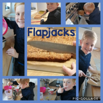 P.6 have been following a recipe this week.