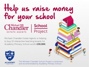 Read about our exciting new Michael Chandler School Project